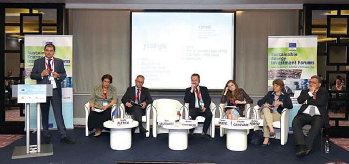 Във форума участие взеха над 100 експерти от техническия и финансовия сектор, публични власти и консултанти от Централна и Югоизточна Европа