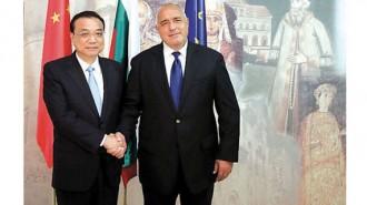 Премиерът Бойко Борисов и председателят на държавния съвет на Китай Ли Къцян обсъдиха развитието на отношенията и икономическото сътрудничество между двете държави