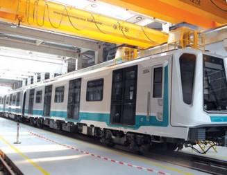 До септември монтират още 2 км релси от третия лъч на метрото