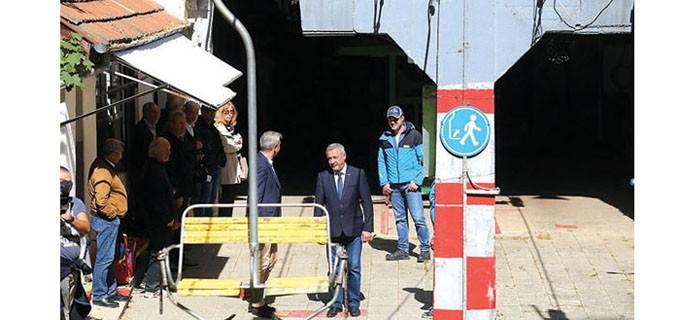 Министър Нено Димов и вицепремиерът Валери Симеонов провериха на място състоянието на Драгалевския лифт