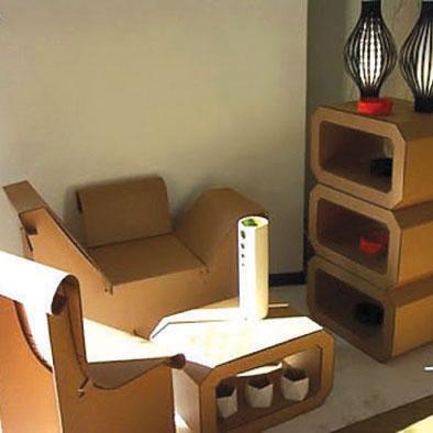 Мебели от хартия 8